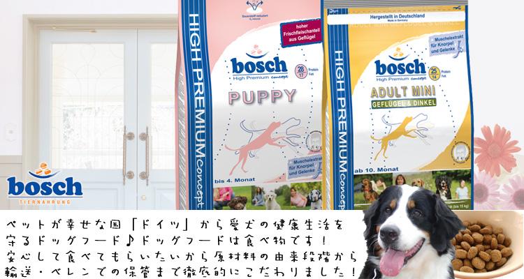 ボッシュ[bosch]ハ  イプレミアムアダルトミニチキン&ディンケル小麦ドッグフード